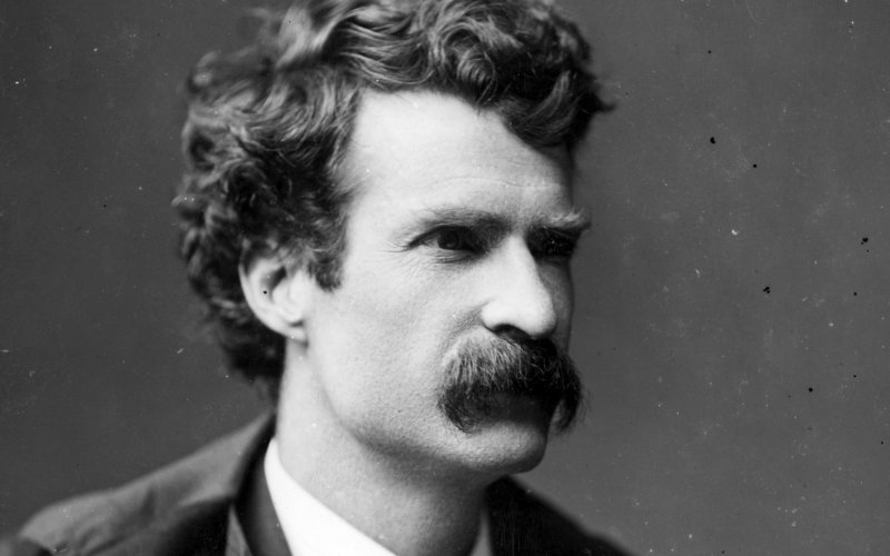 "Mark Twain came to San Francisco to ""be a butterfly."""